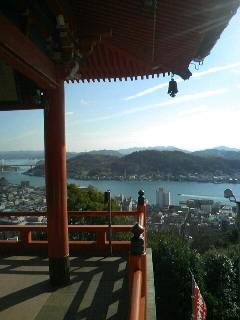 千光寺からの景色
