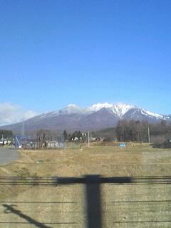 雄大な山々