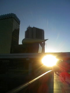 浅草での初日の出