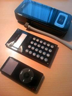 東急ハンズで衝動買い。iPod系電卓
