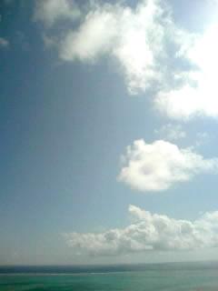 夏模様の沖縄^^v