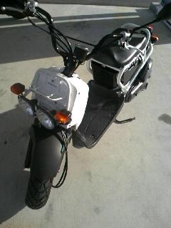 2ヶ月ぶりにバイクが戻った・・・
