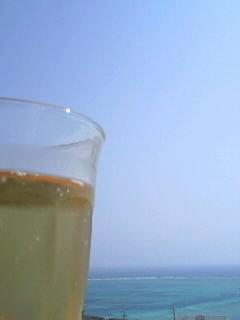 夏模様の沖縄。今日の暑さは泳ぎたくなる!?