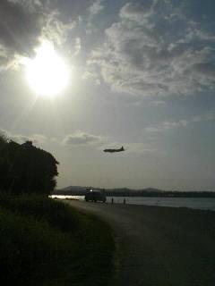 朝から瀬長島。