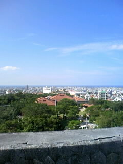 首里城からの景色