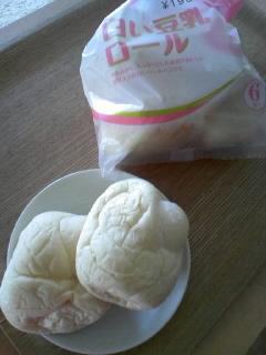 白い豆乳ロール