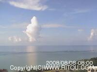 2008年8月8日午前8時の沖縄