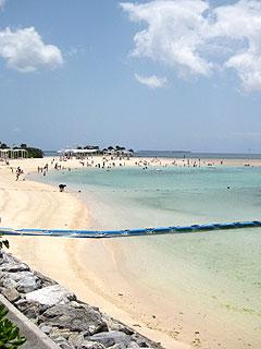 人口密度の高いエメラルドビーチ