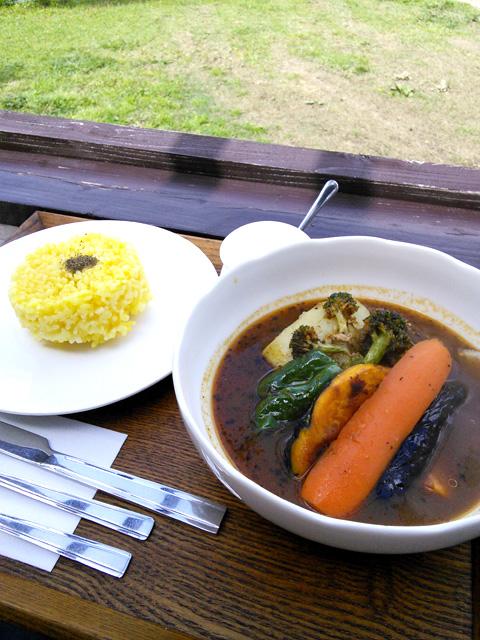 激うまの野菜たっぷりスープカレー