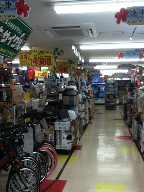 ドンキホーテ国際通り店3階:家電/デジタル機器