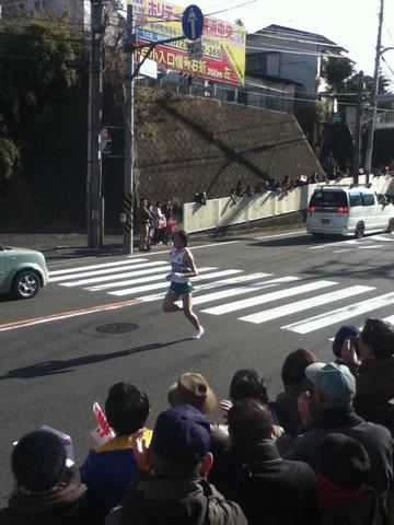 箱根駅伝2012年9区17位