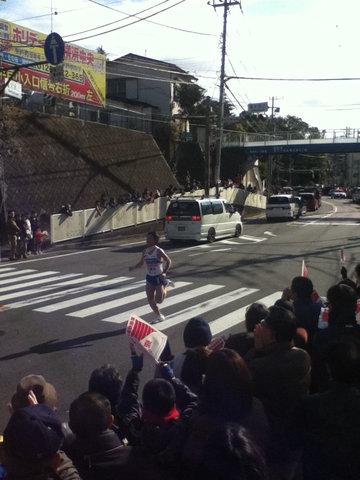 箱根駅伝2012年9区20位