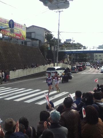 箱根駅伝2012年9区2位・3位