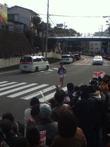 箱根駅伝2012年9区4位