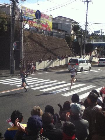 箱根駅伝2012年9区6位・7位