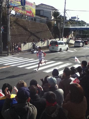 箱根駅伝2012年9区8位