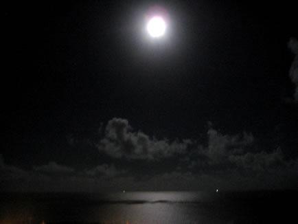 2007年8月26日の月明かり