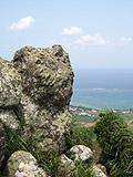 野底マーペー「頂上の岩々」