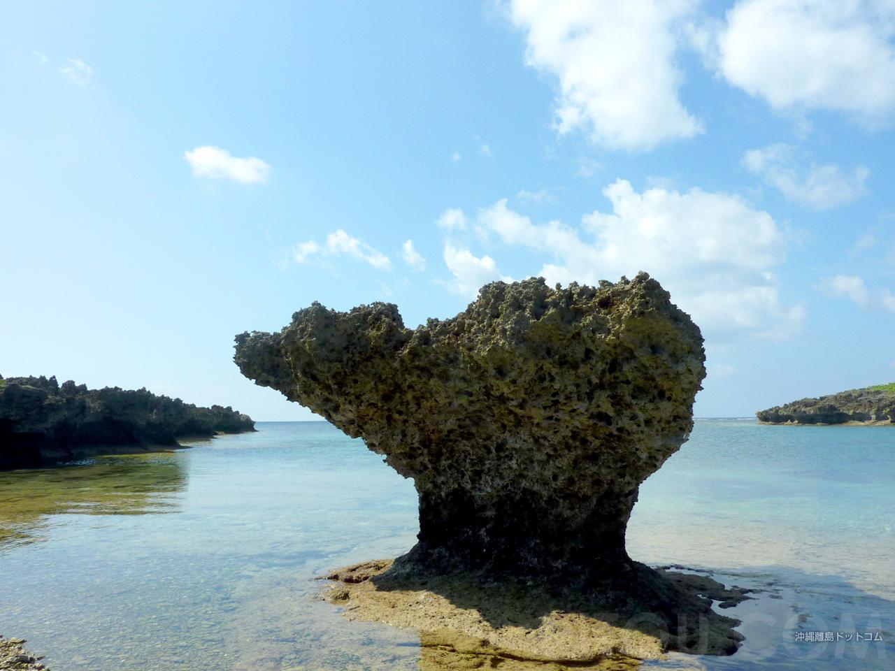 伊良部島/下地島のハート岩?(35エンド)