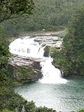 展望台からのマリユドゥの滝