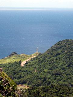 山頂からの景色(御神崎)