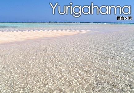 百合ヶ浜の砂浜