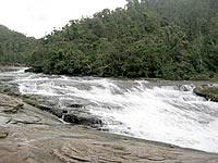 西表島「カンピレーの滝」