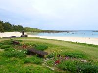 喜界島「志戸桶ビーチ/平家上陸之地」