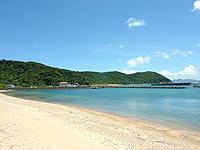 与路島「与路のビーチ」