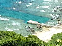 与路島「高原海岸桟橋」