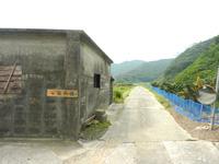 請島「石川道への前半の道」