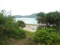請島「石川道の浜」