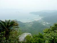 請島「大山ミヨチョン岳頂上」