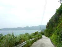 請島「計良治崎への道」