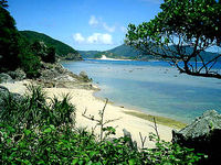 与路島「港近くのビーチ」