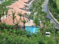 宮古島のシギラベイサイドスイート アラマンダ - プライベートプール付きだけどここから見える