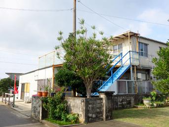 多良間島の大徳商事ゲストハウス