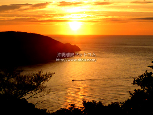 【奄美大島】あかさき公園の遊歩道は夕日の名所かも?