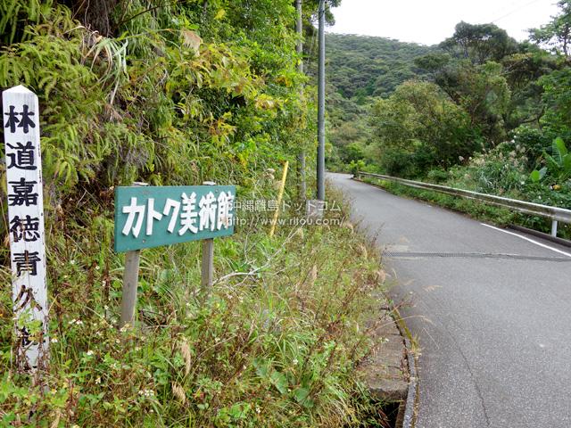 嘉徳集落へ行くにはトンネルに入ったらこの入口にたどり着けない!