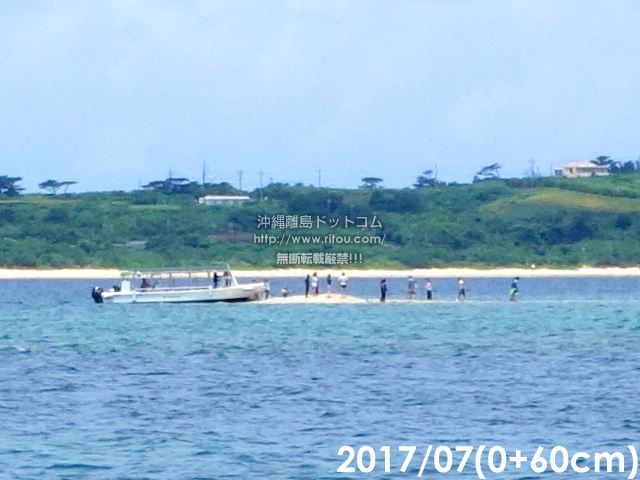 2017年7月(潮位+60cm)