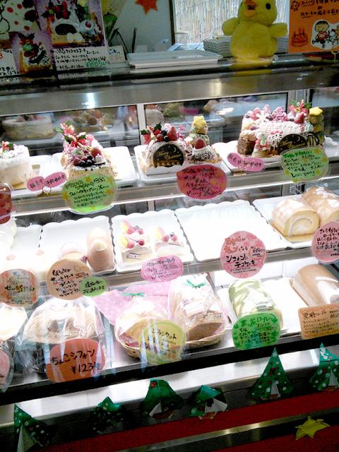 こっこ家 ショーケース2・生菓子/ケーキ