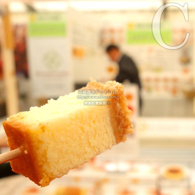 C「美ら卵養鶏場」のたまごチーズケーキ
