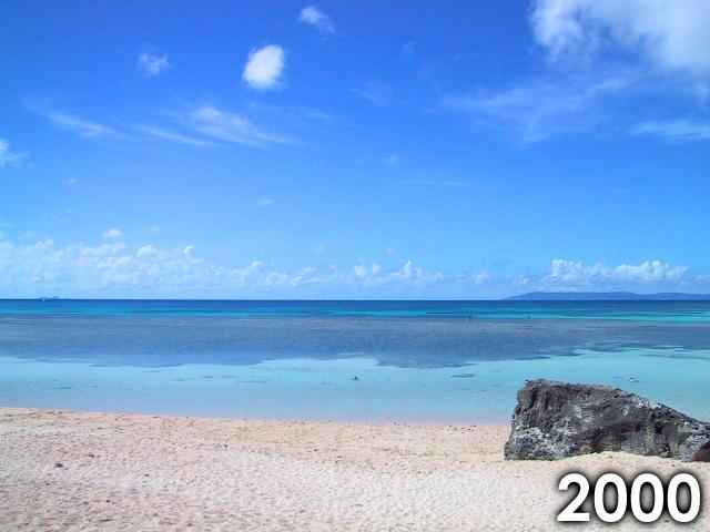 2000年のニシ浜