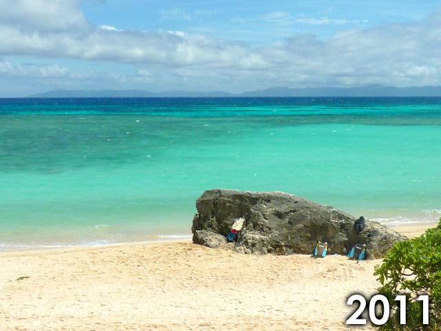 2011年のニシ浜