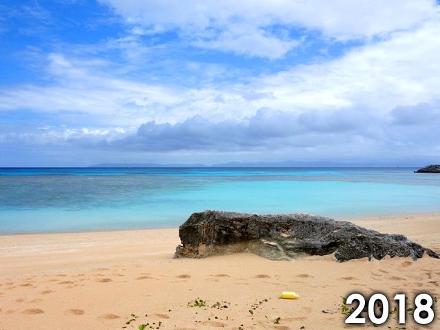 2018年のニシ浜