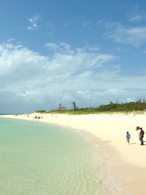 前浜もこの状態!台風が来ている感じはここではしませんでした。