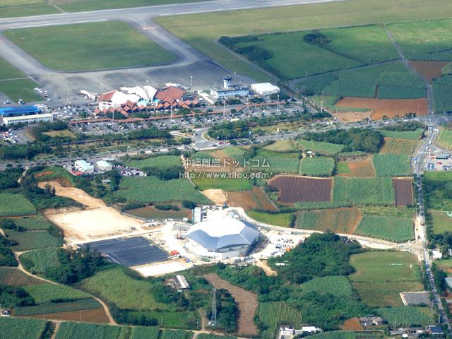 宮古空港のすぐ近くに無駄な箱物建設