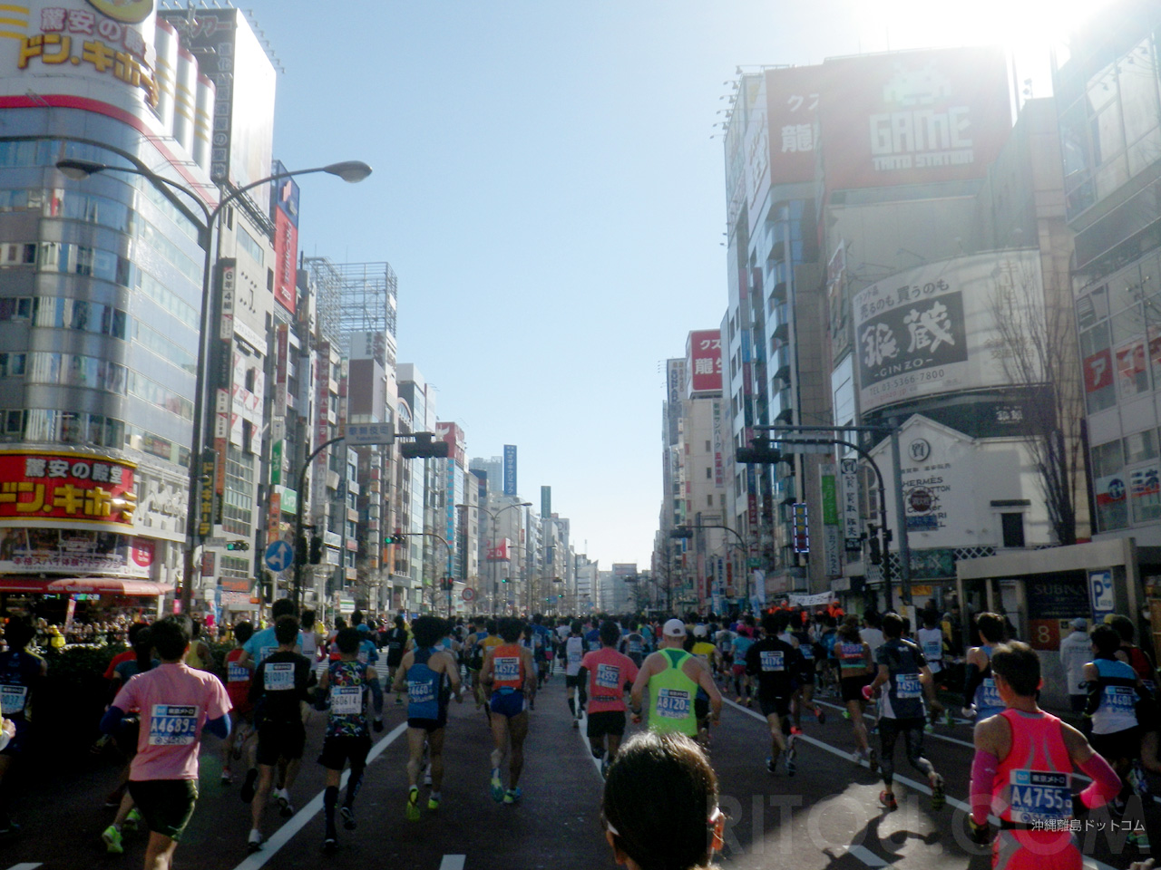 【1.2km】歌舞伎町を横目に靖国通りを走る