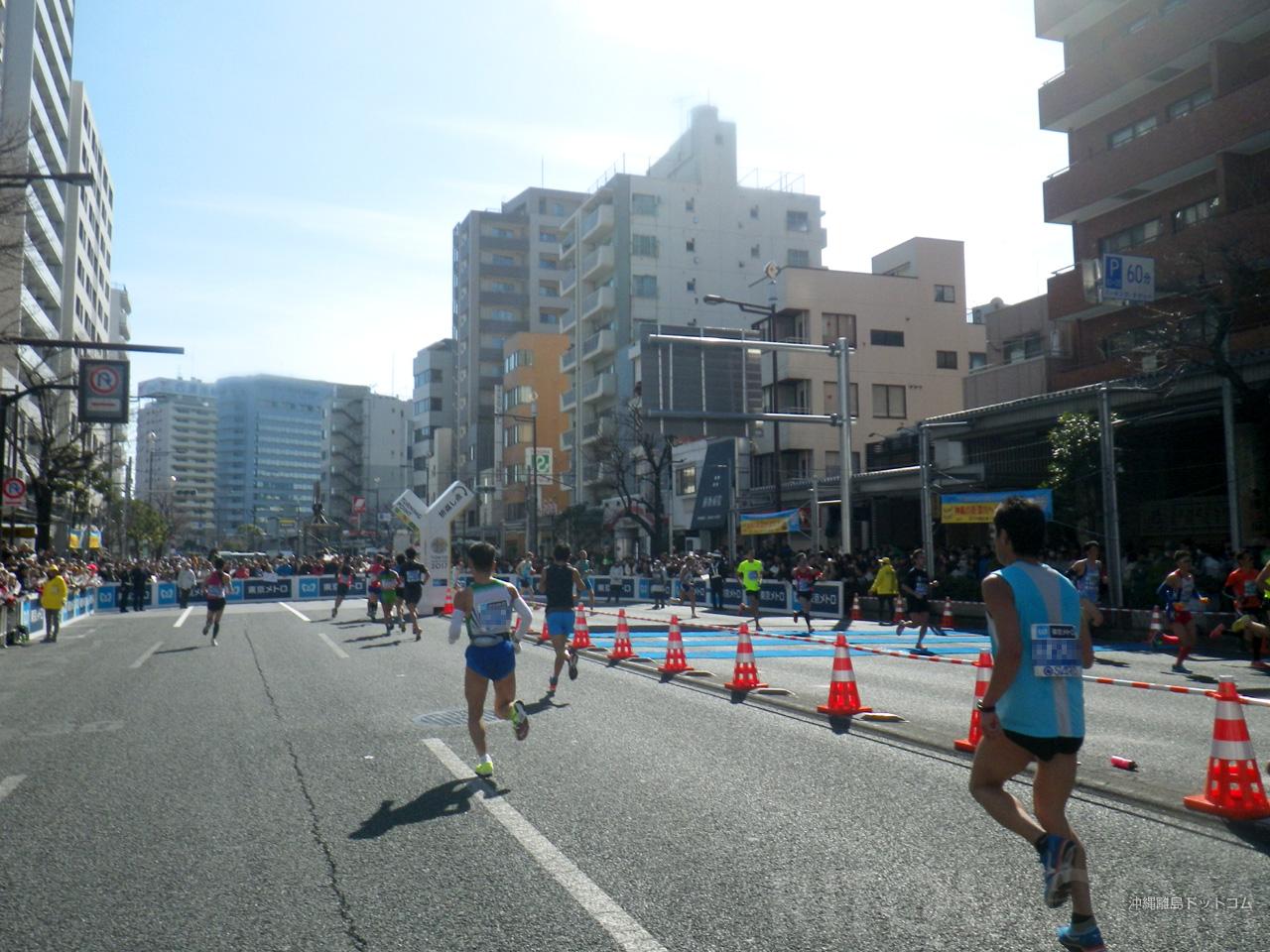 【20.4km】新コースの門前仲町折り返し