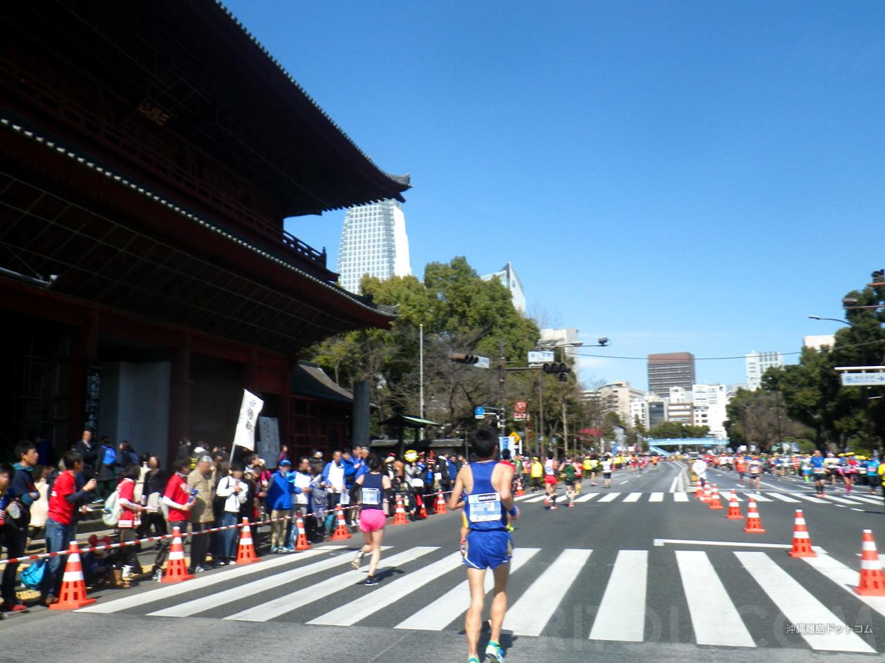 【38.8km】増上寺地点では東京タワーも望めるかも?
